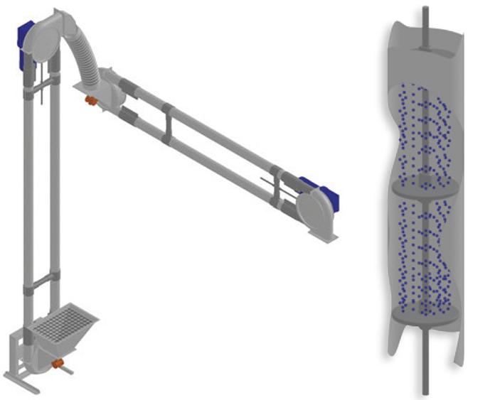 Aero-Mechanical Conveyor HiWay