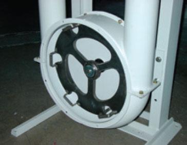 Mild steel corner Aero-Mechanical Conveyor
