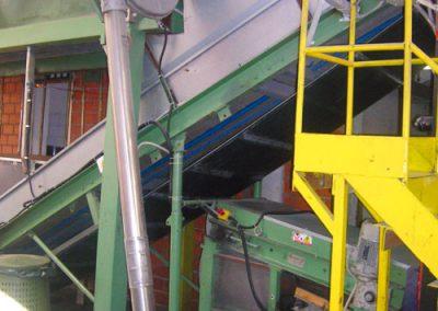 convogliatore aeromeccanico a catena