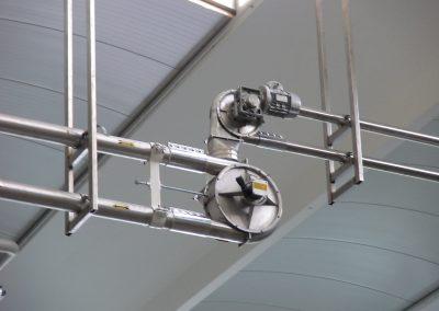 convogliatore aeromeccanico